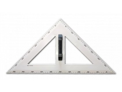 trojuhelnik rovnoramenny cerny