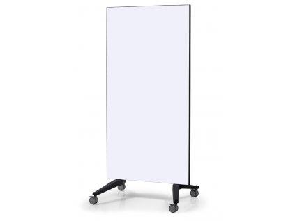 Mobilní skleněná tabule bílá