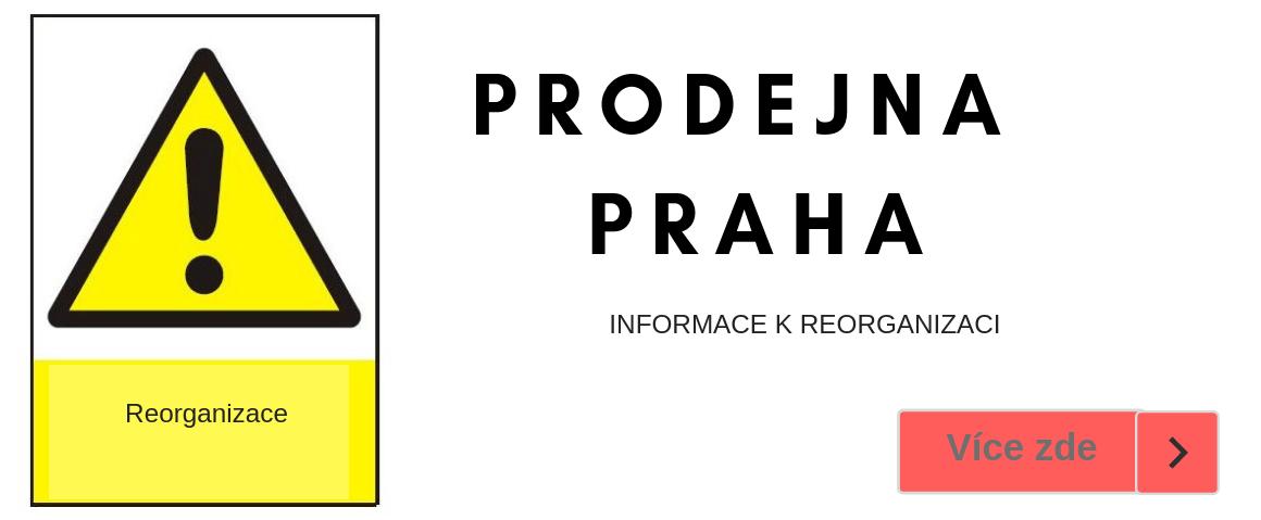 Reorganizace prodejny Praha