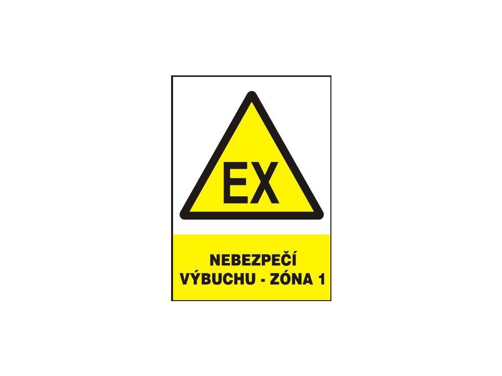 Nebezpečí výbuchu - Zóna 1