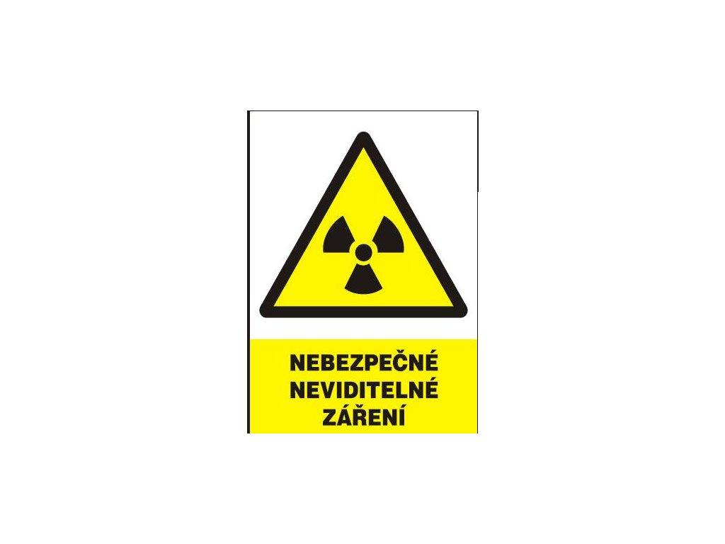 Nebezpečné neviditelné záření