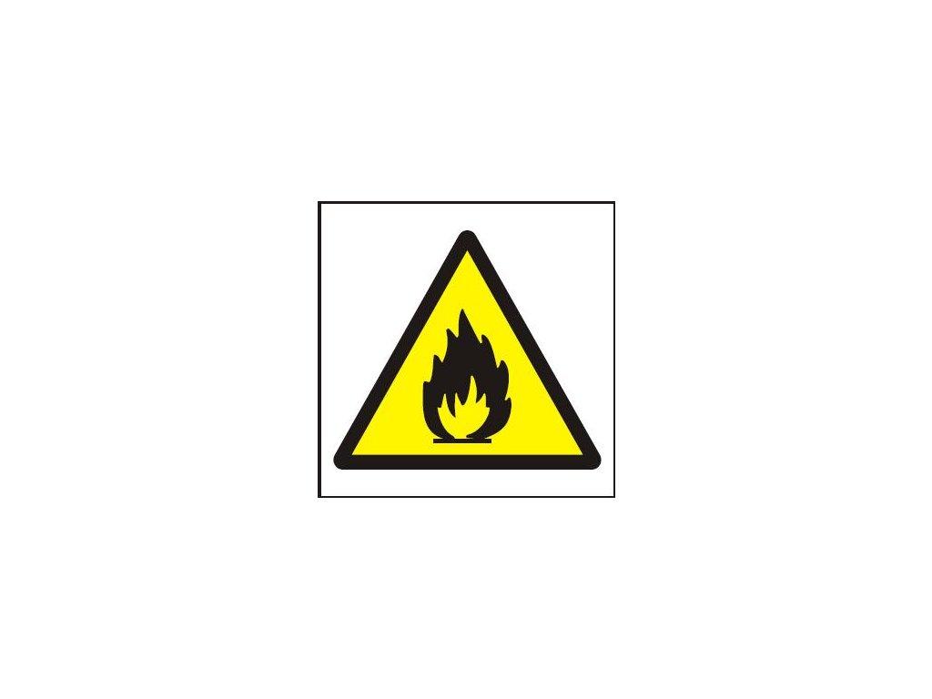 Symbol - nebezpečí požáru