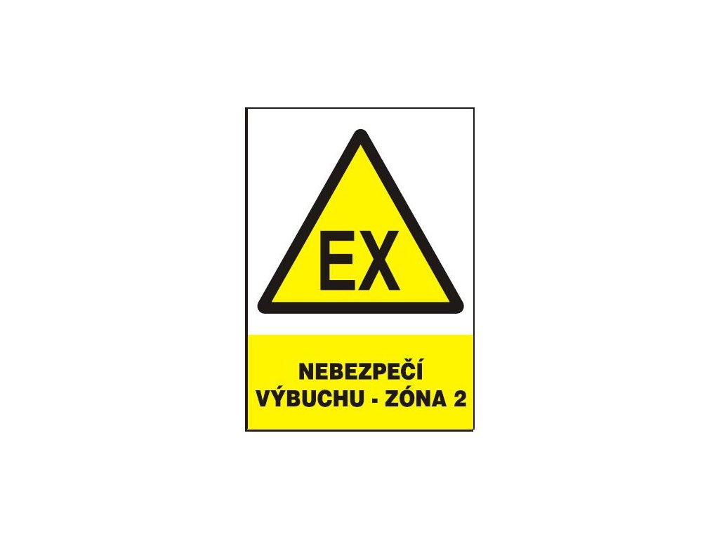 Nebezpečí výbuchu - zóna 2