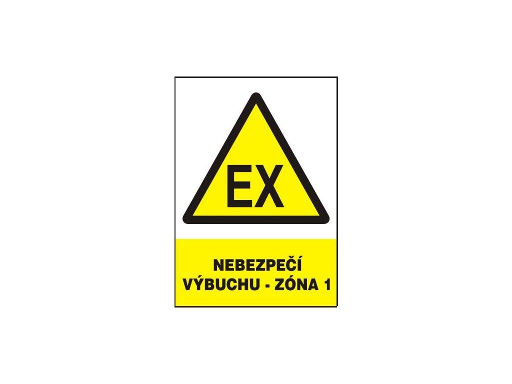 Nebezpečí výbuchu -zóna 1