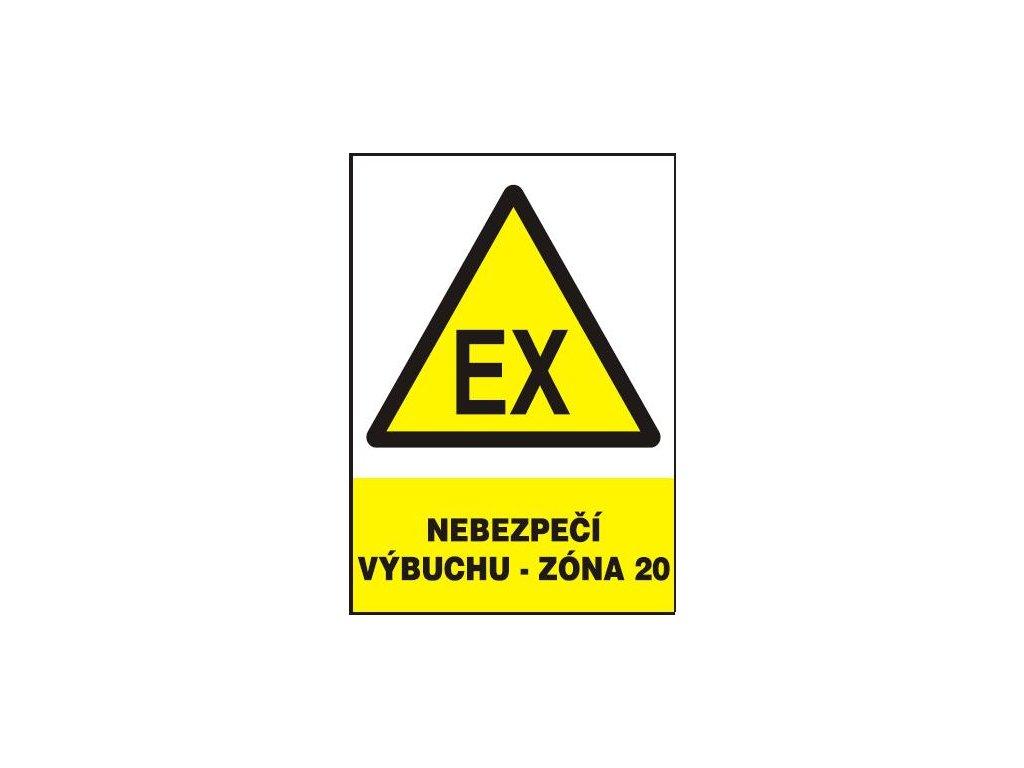 Nebezpečí výbuchu - Zóna 20