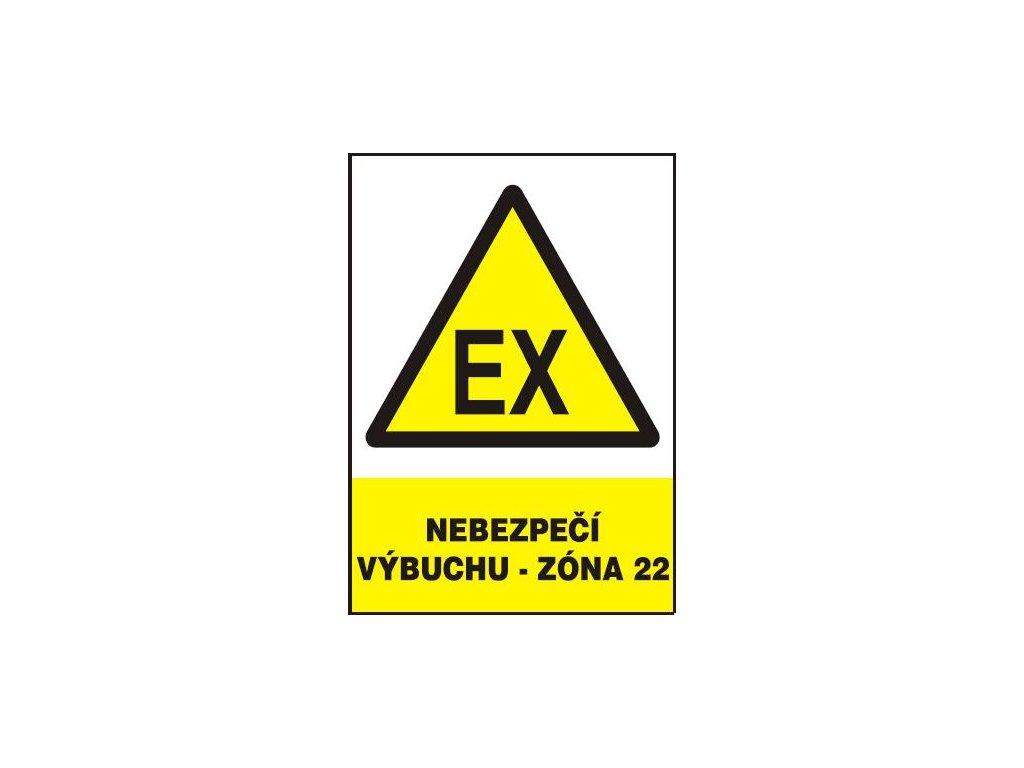 Nebezpečí výbuchu - zóna 22