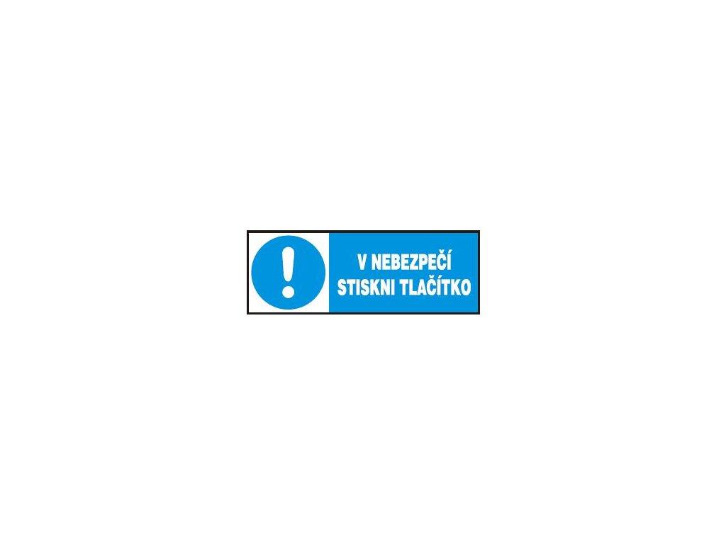 V nebezpečí stiskni tlačítko