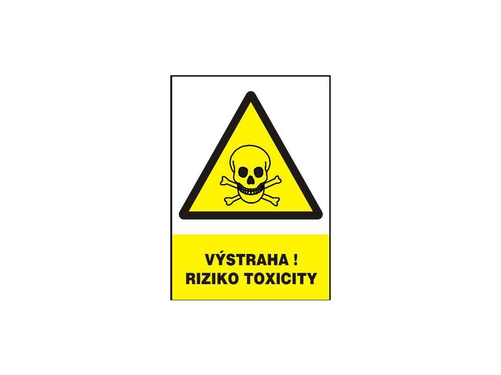 Výstraha! Riziko toxicity