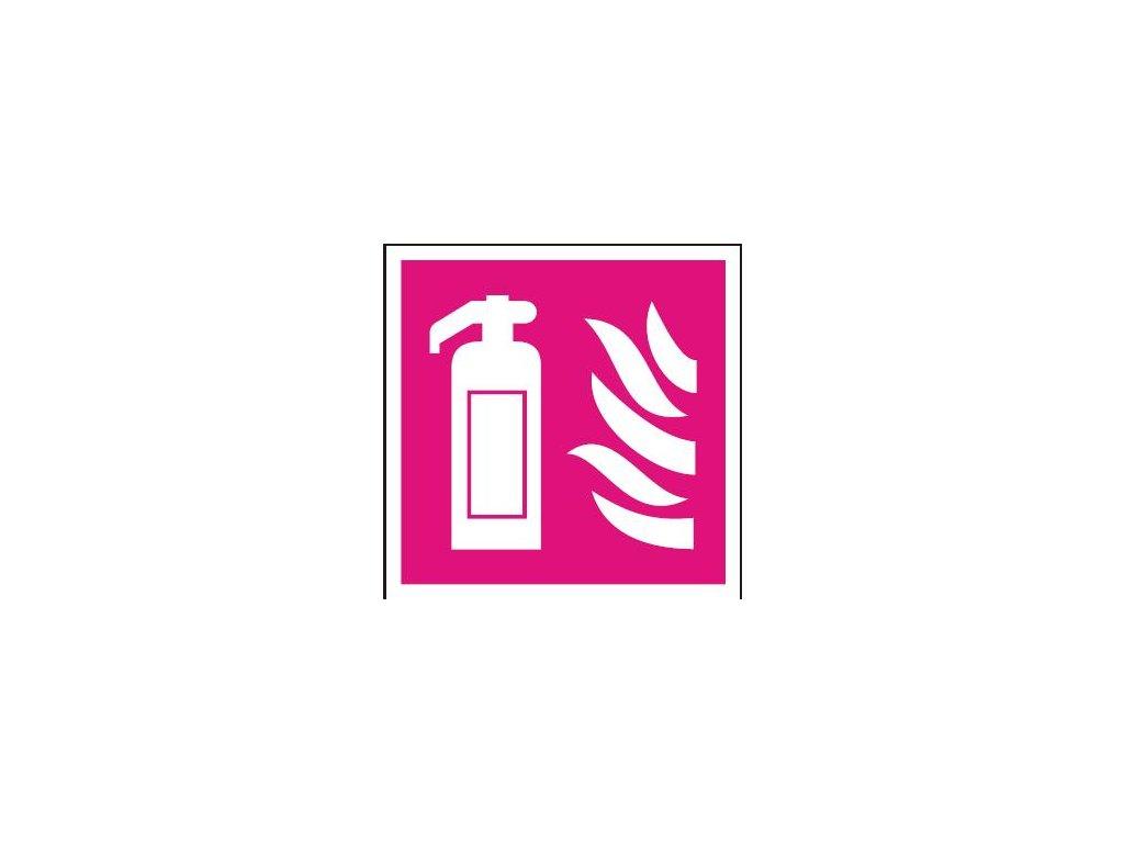 Symbol - hasicí přístroj