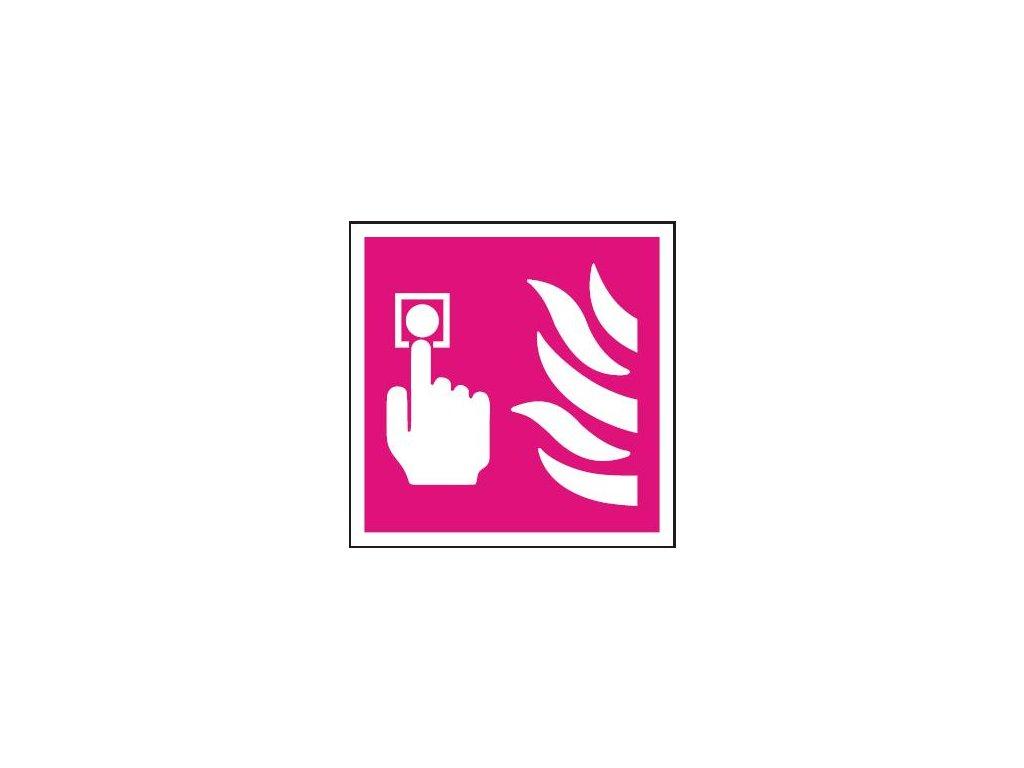 Symbol - požární tlačítko