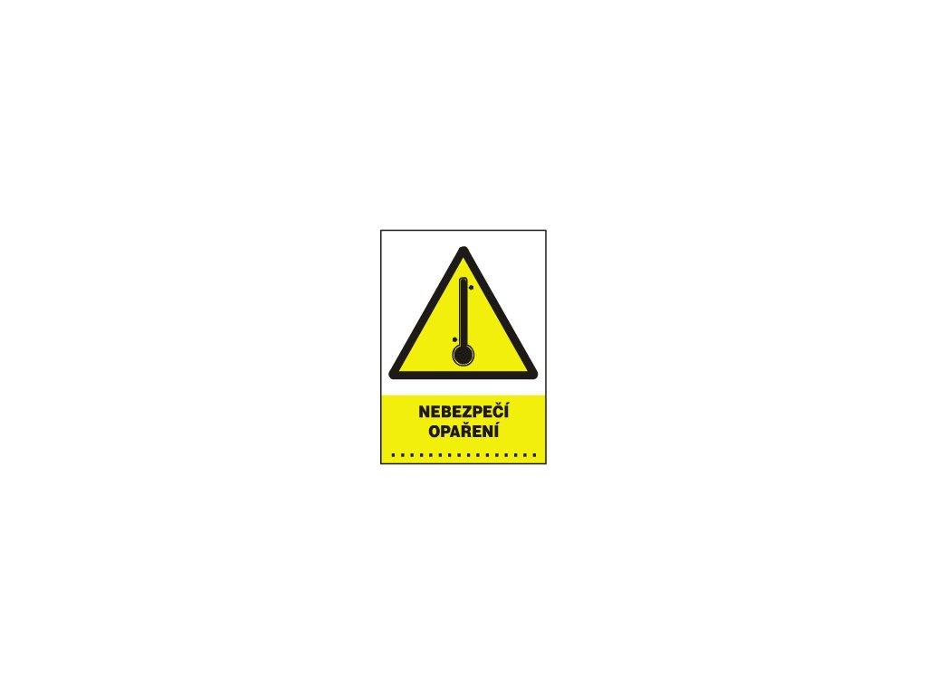 Nebezpečí opaření ……