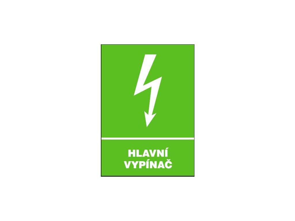 Hlavní vypínač (336131)