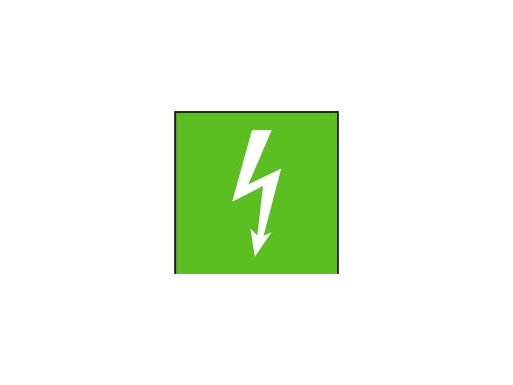 Symbol - bezpečný stav el. zařízení