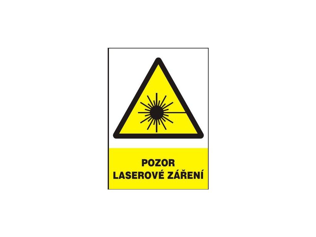 Pozor laserové záření