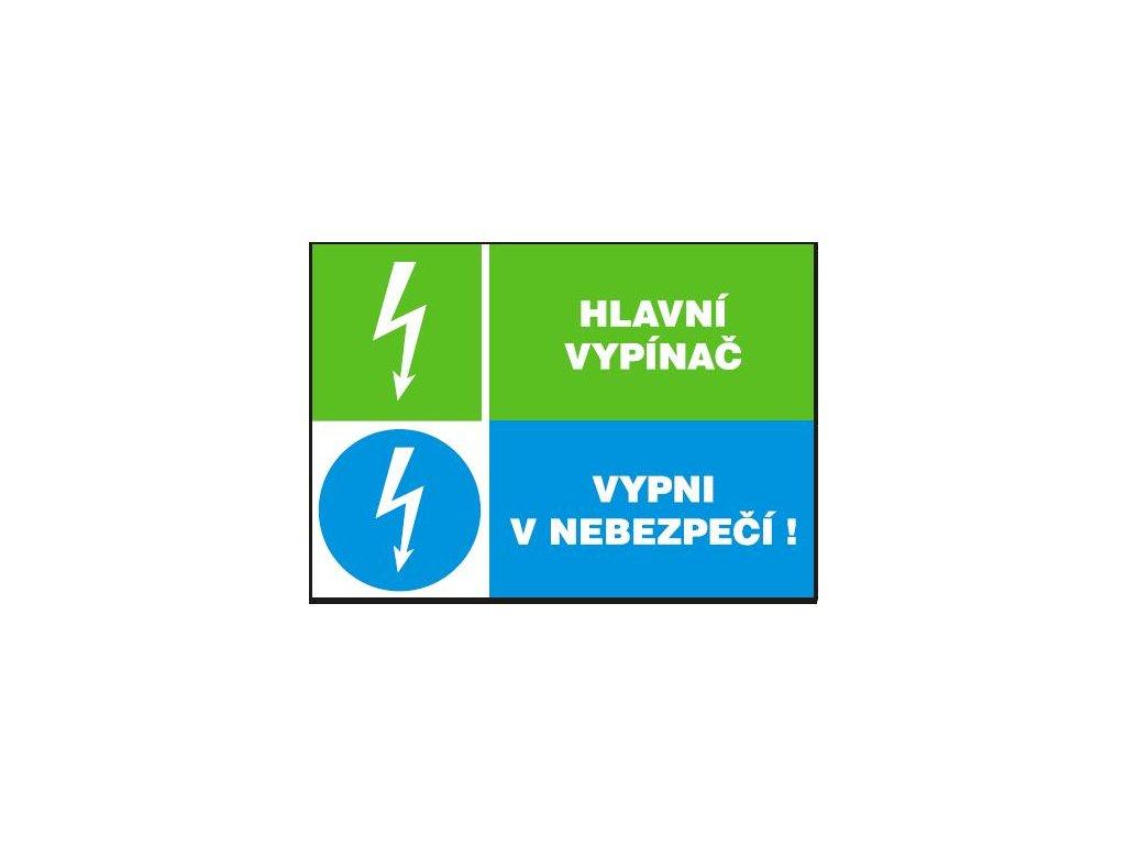 Hlavní vypínač - Vypni v nebezpečí