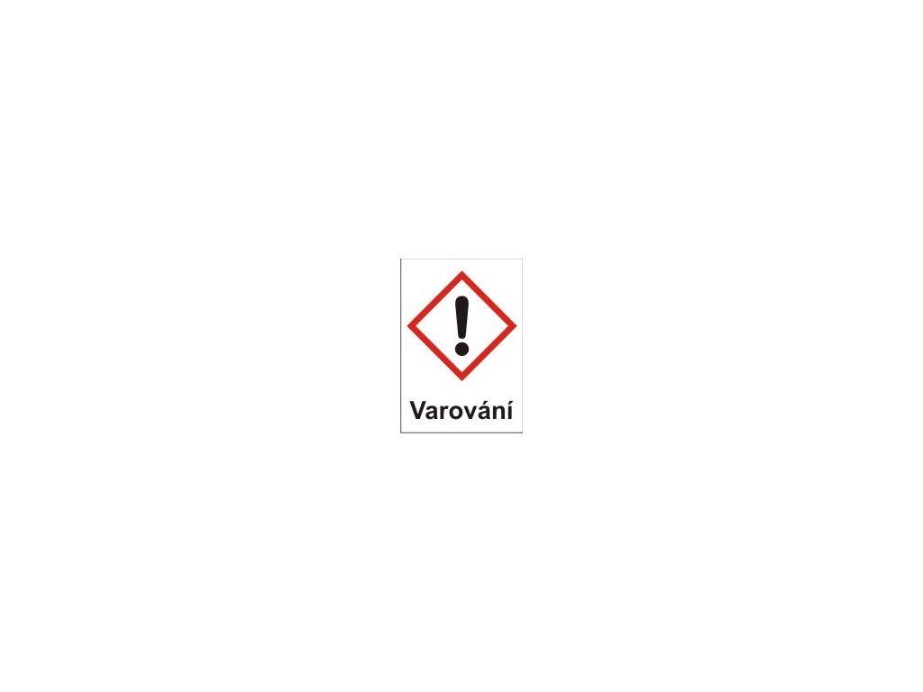 Dráždivé – varování (GHS07)