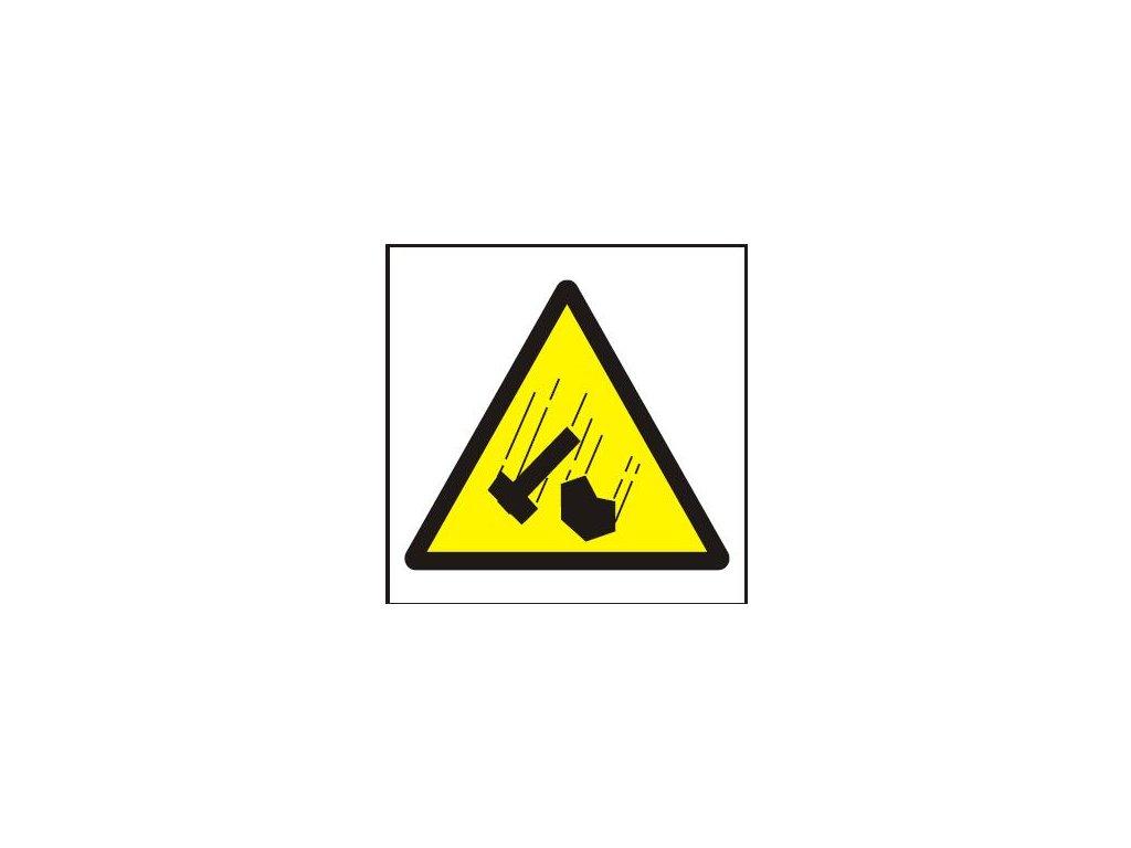 Symbol - padající předměty