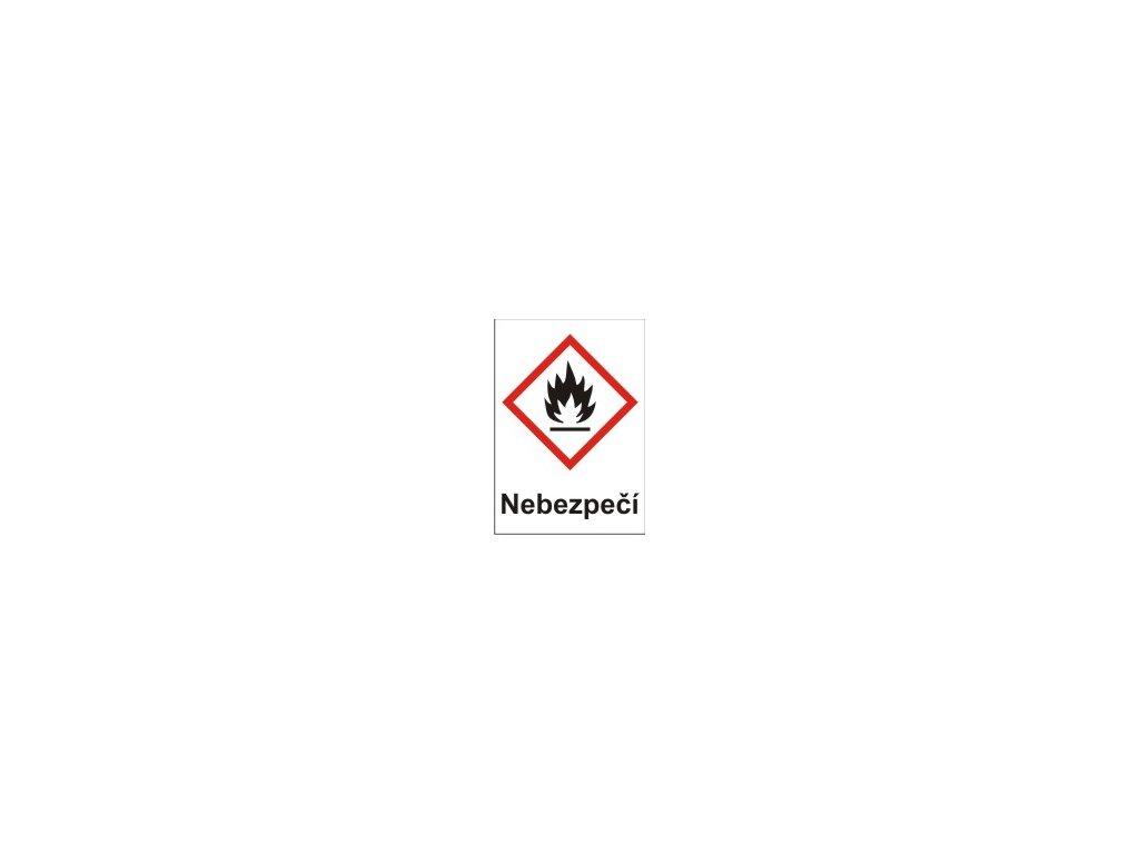 Hořlavé – nebezpečí (GHS02)