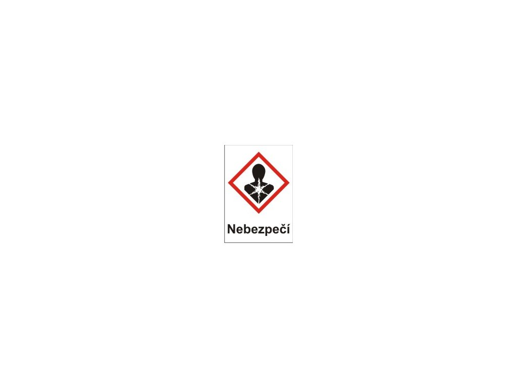 Nebezpečné pro zdraví – nebezpečí  (GHS08)