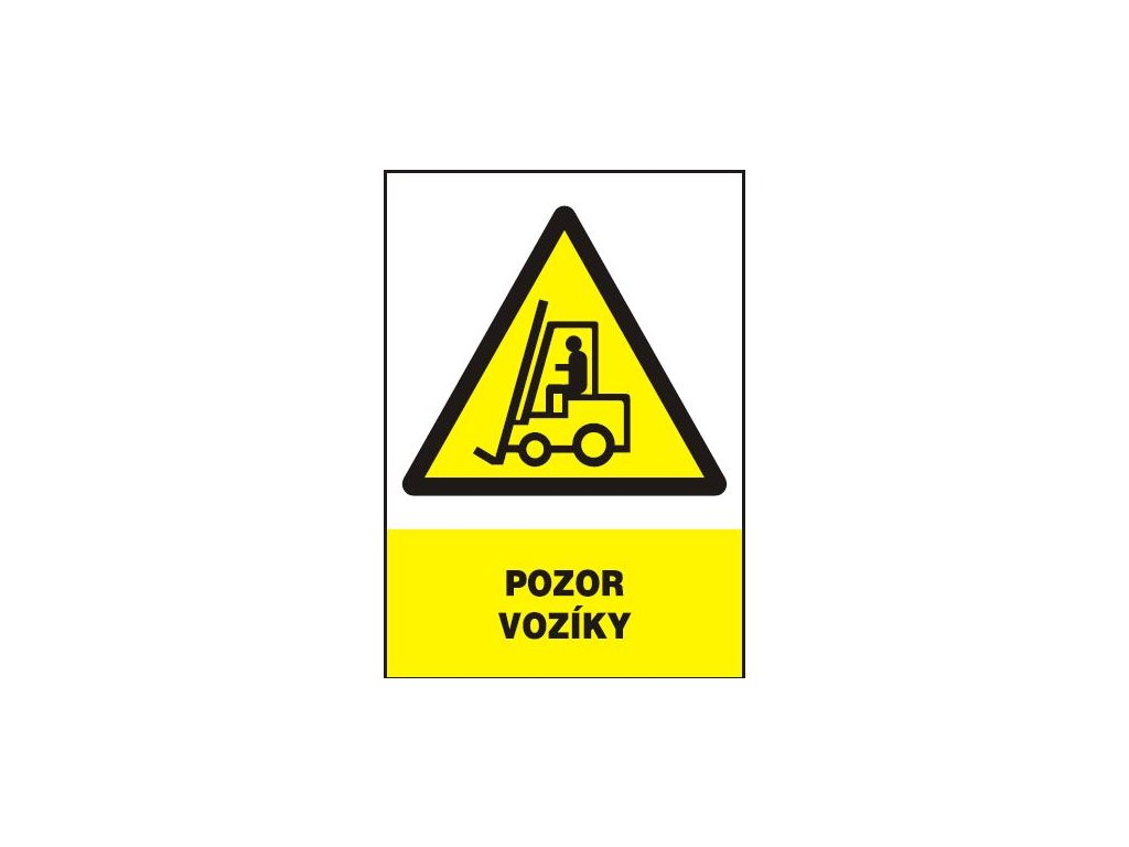 Pozor vozíky