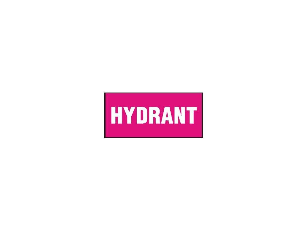 Hydrant (nápis)