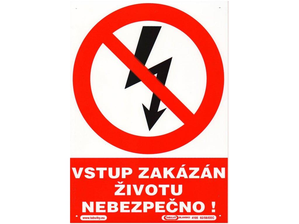 Vstup zakázán ŽN