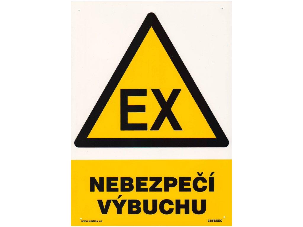 Nebezpečí výbuchu - EX