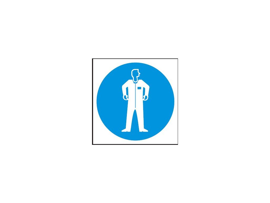 Symbol - ochranný oděv