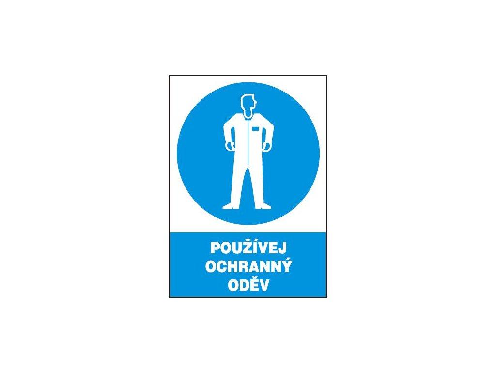 Používej ochranný oděv