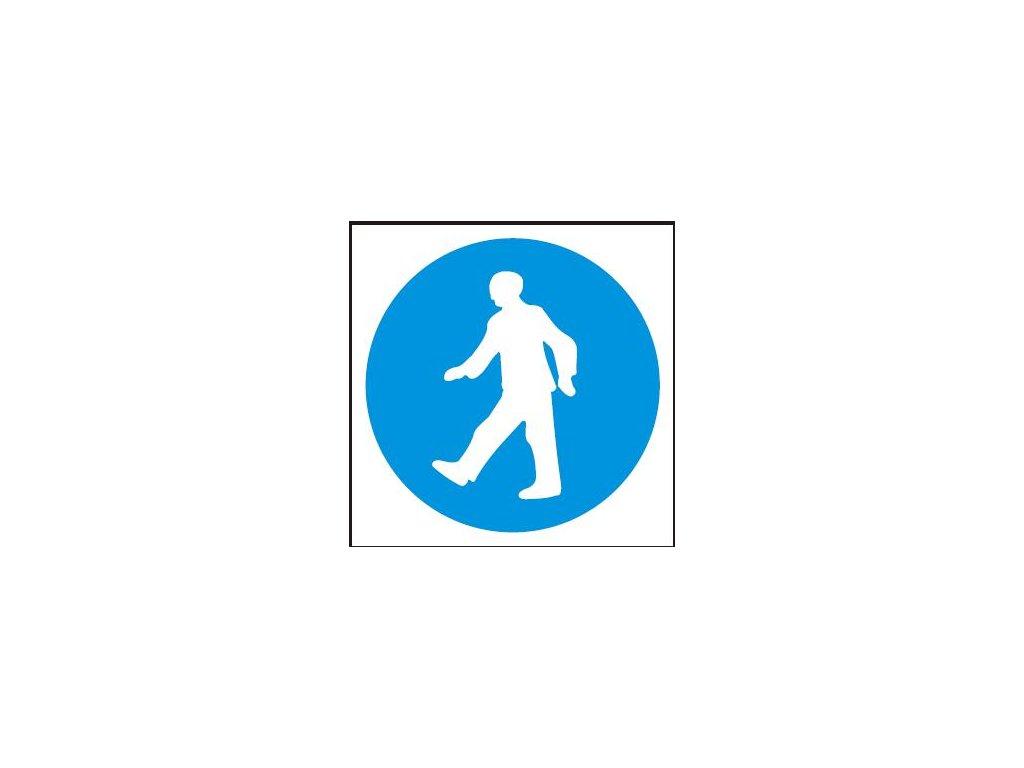 Symbol - příkaz pro chodce