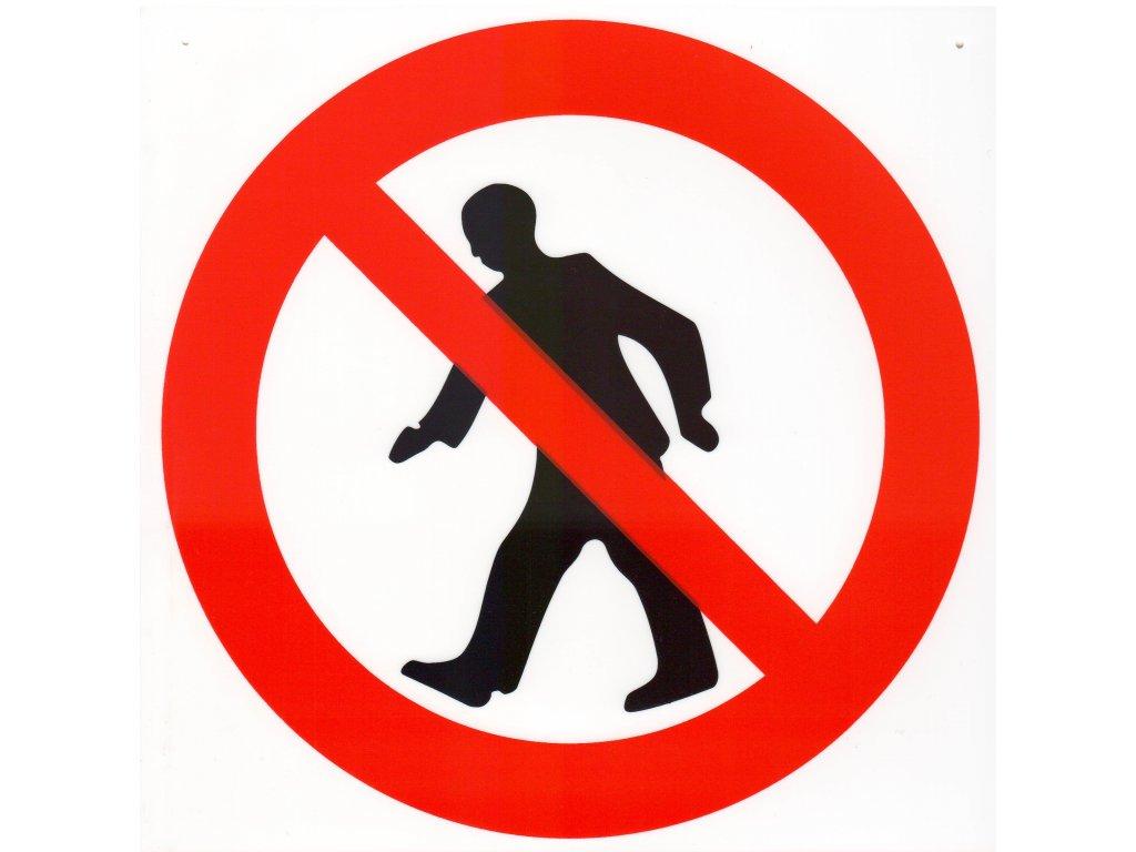 Symbol - průchod zakázán
