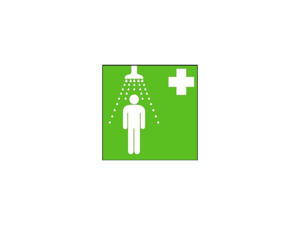 Symbol - bezpečnostní sprcha