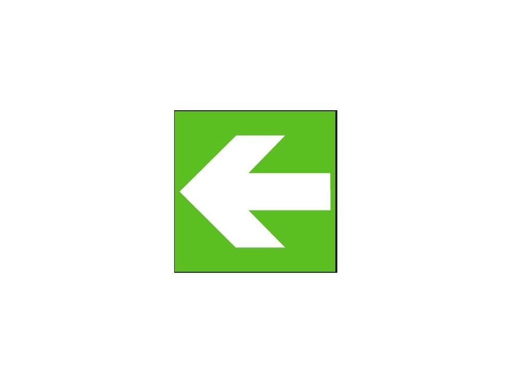 Symbol - směr úniku (lze otočit do čtyř stran)