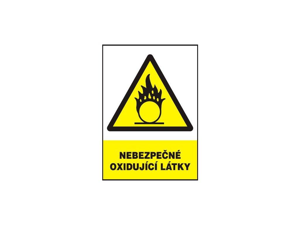 Nebezpečné oxidující látky