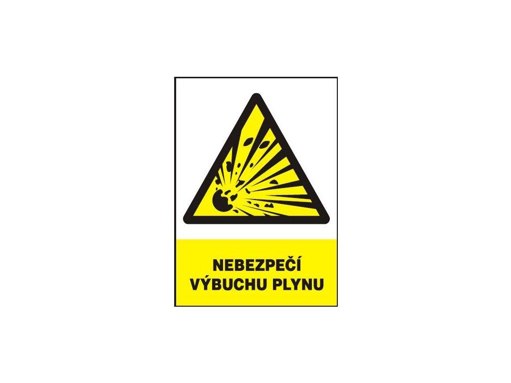 Nebezpečí výbuchu plynu