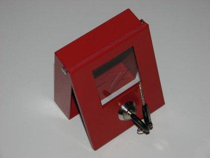 Skříňka na klíče se zámkem (pro 2 klíče)