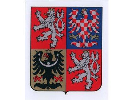 Státní znak ČR na plastu (350x420 mm)