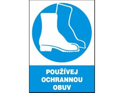 Používej ochrannou obuv