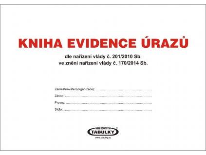 Kniha evidence úrazů - novelizovaná 2015