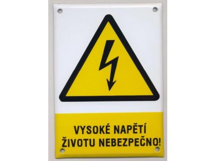Vysoké napětí - životu nebezpečno !
