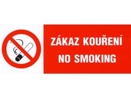 Zákaz kouření - no smoking