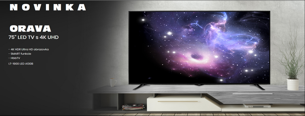 ORAVA 75´ LED TV