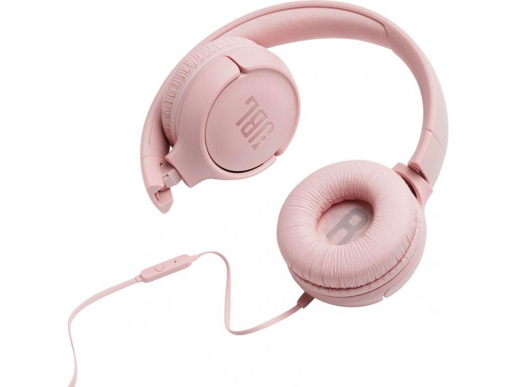 JBL Tune 500 Pink 1