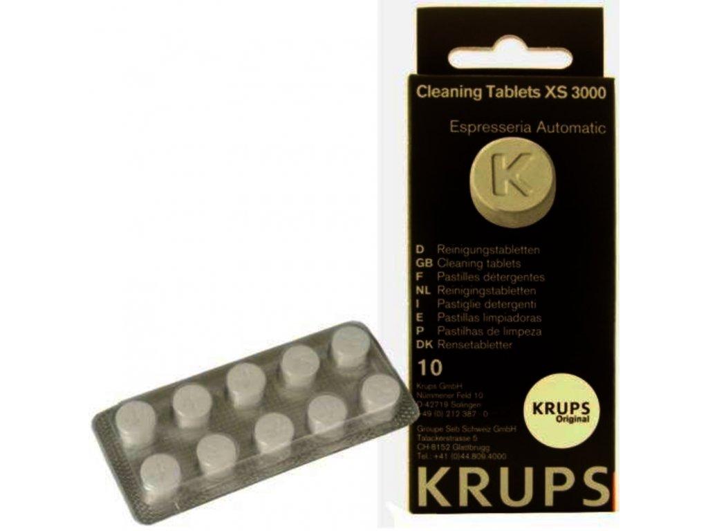 Krups XS 300010 čistiace tablety