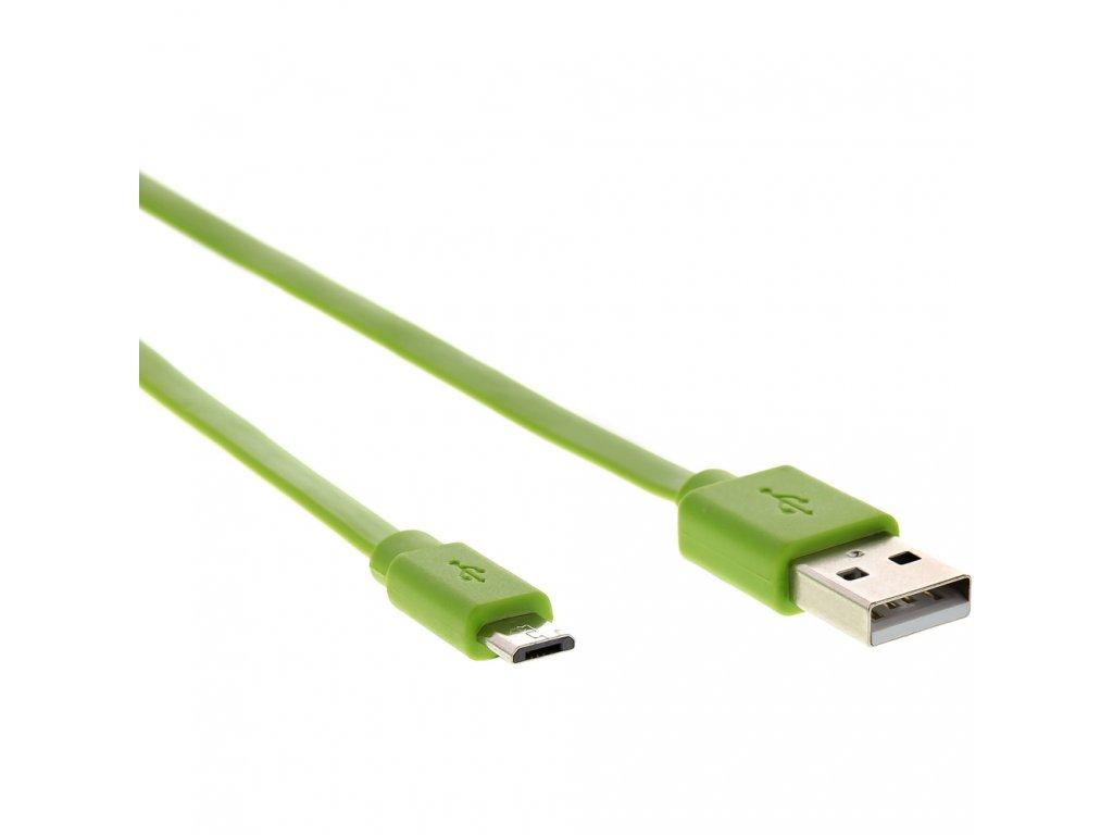 Kábel Micro USB Sencor SCO 512 010 Green 1