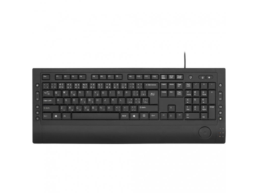 Yenkee YKB 1010CS USB klávesnica MM 1