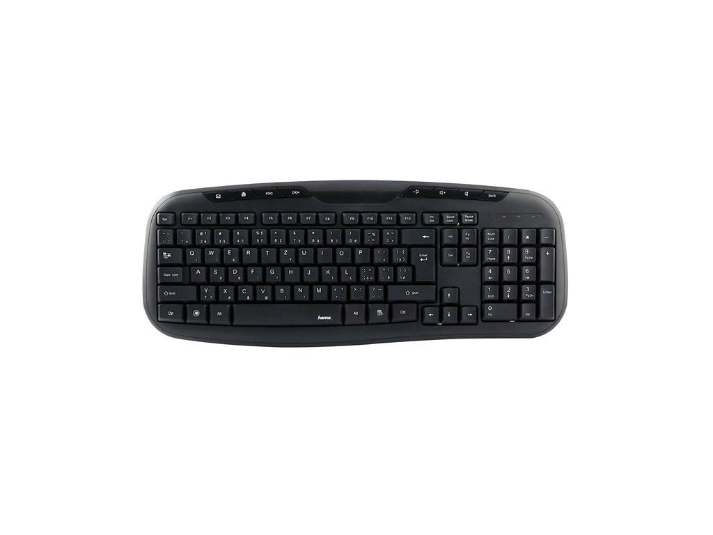 Hama klávesnica Cellino, čierna 1