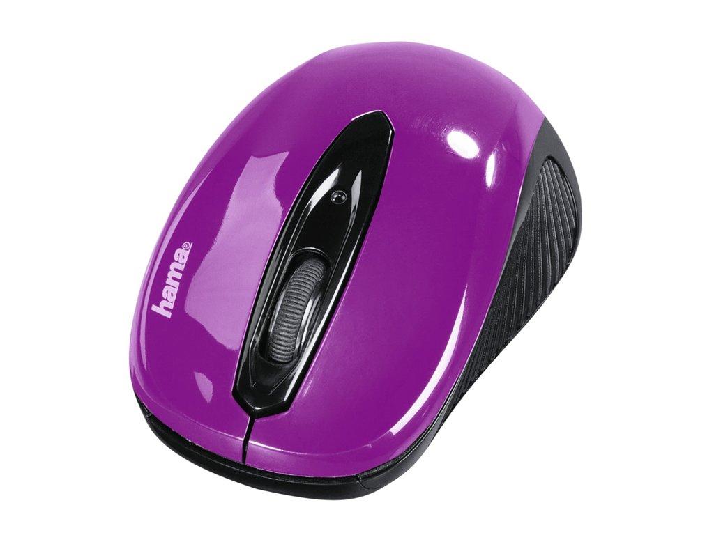 Hama optická myš AM 7300, ostružinová 1
