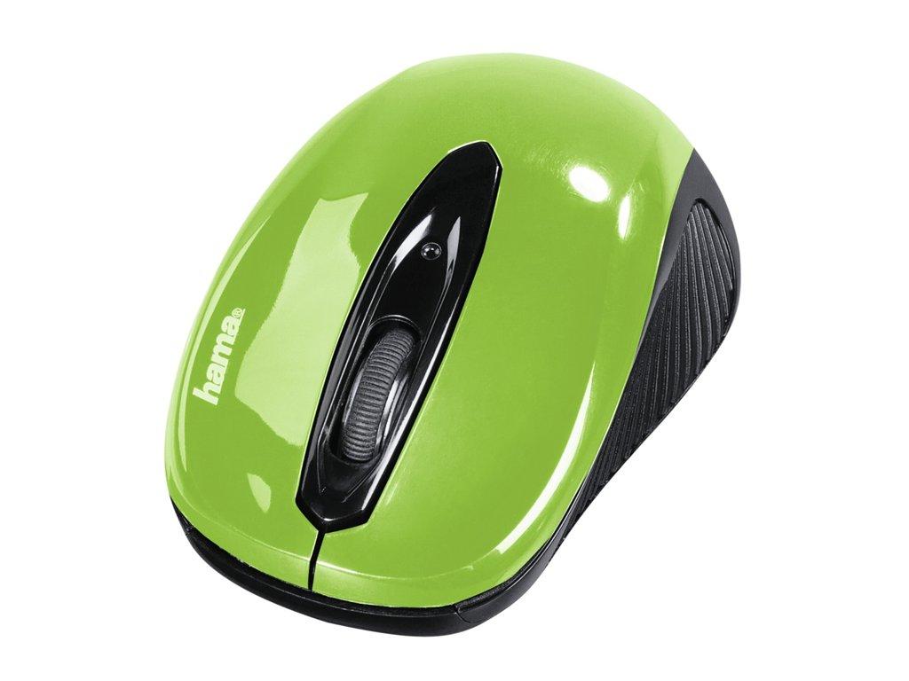 Hama optická myš AM 7300, zelená 1
