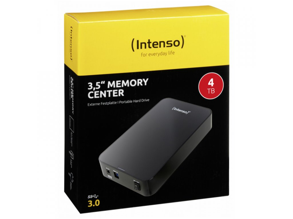 MemoryCenter 4TB ext.HDD BK INTENSO 3